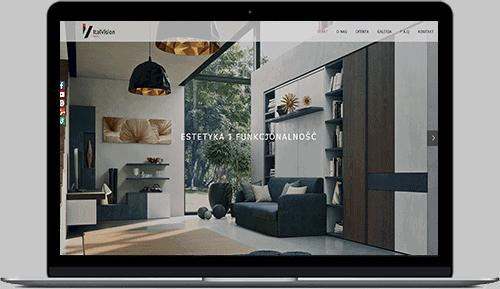 Profesjonalne strony internetowe - przykład italvision.pl