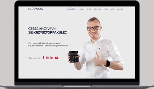Projekt i wykonanie strony